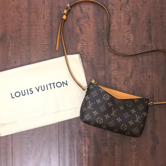 d78f2fc2ee Louis Vuitton Bags   Pallas Clutch Crossbody   Poshmark